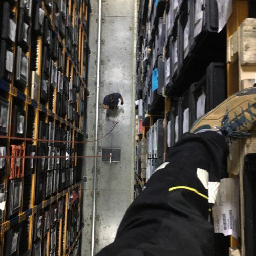 Pomocné práce ve skladu, Kostal, Beroun.